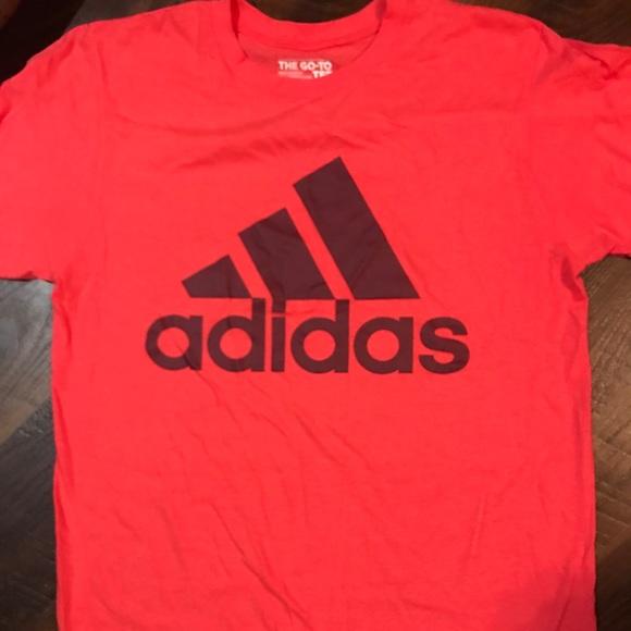 adidas Tops - Pink Adidas Tee